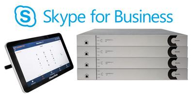 ClearOne® CONVERGE® Pro 2 Series Now Supports Built-In Skype® for Business Client