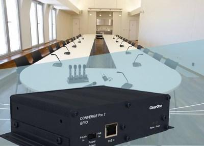 ClearOne Introduces Two New Expander Solutions for CONVERGE® Pro 2 DSP Mixers
