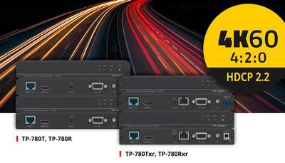 Versatile & Cost Effective 4K60 4:2:0 HDMI Extension
