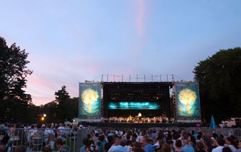 New York Philharmonic Presents Summer Park Concerts with Meyer Sound LEO