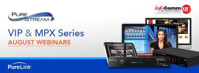 PureLink Adds Digital Signage to its InfoComm CTS RU Webinar Series