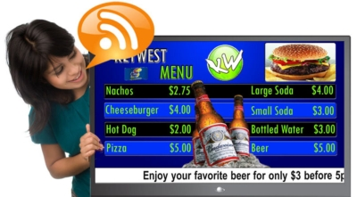 Digital Signage Content: RSS Feeds Offer Inexpensive Way to Keep Content Fresh
