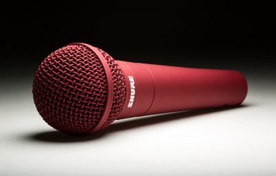 Shure to Offer Custom Color Microphones From ColorWare