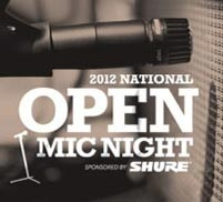 Shure Presents National Open Mic Night for Aspiring Performers