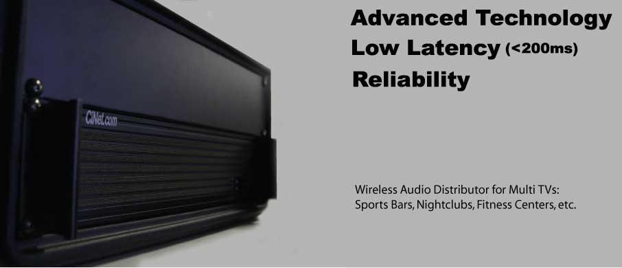 Wad 120 Wireless Audio Distributor Wad 120 Cinet Inc