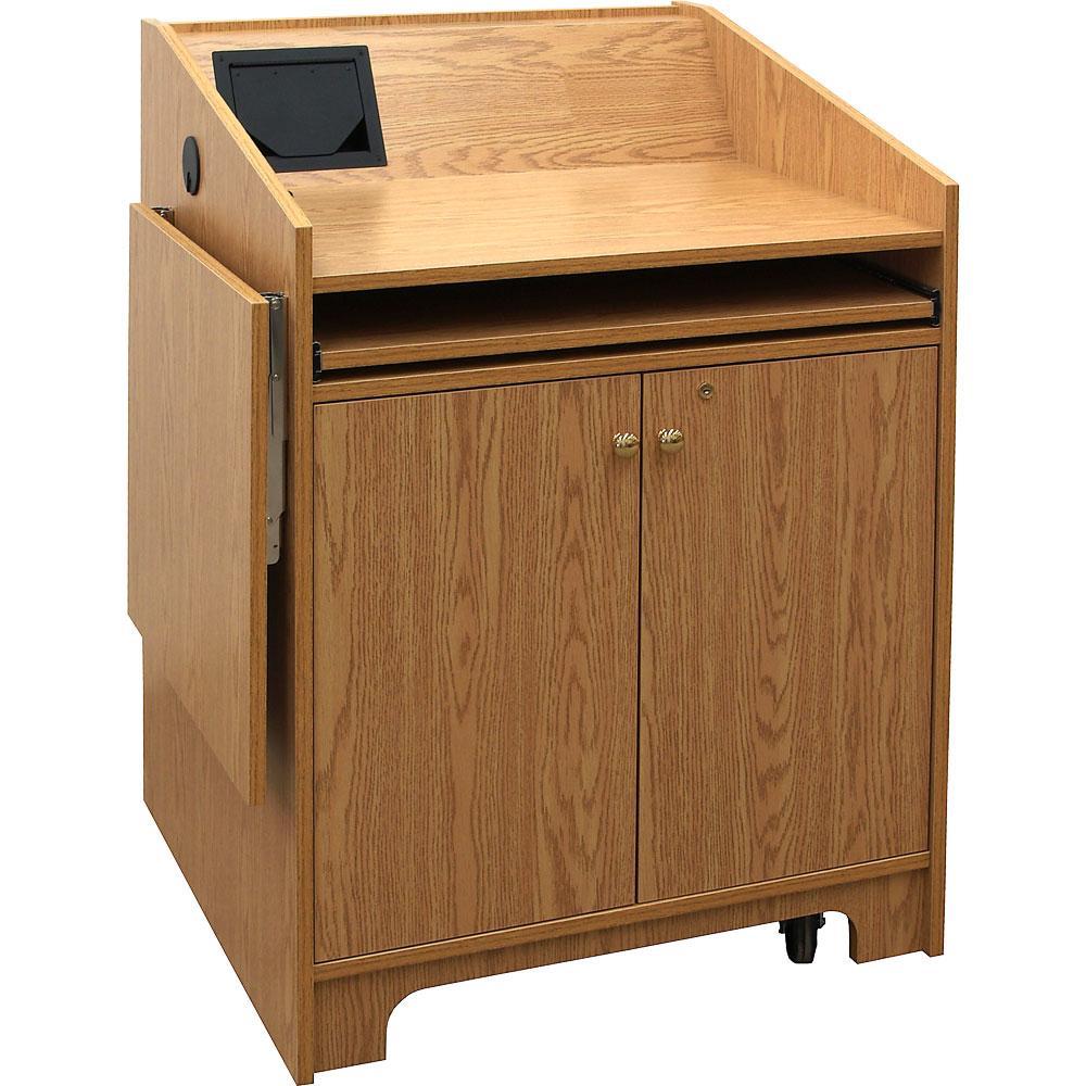 Elco 32 Oak Melamine Marshall Furniture Quick Ship