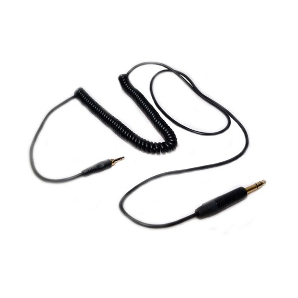 42204 | 1.5m to 3m Coiled USC Cable with Neutrik Plug, Black ...