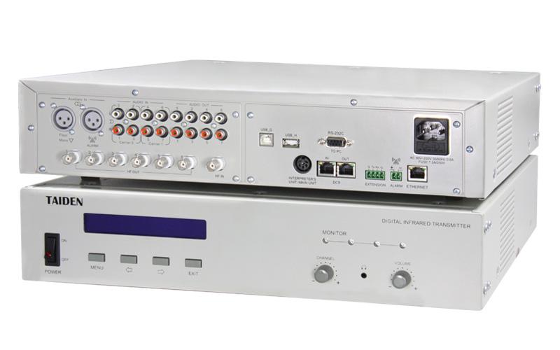 Hcs 5100ma 08n 8 Chs Digital Infrared Transmitter