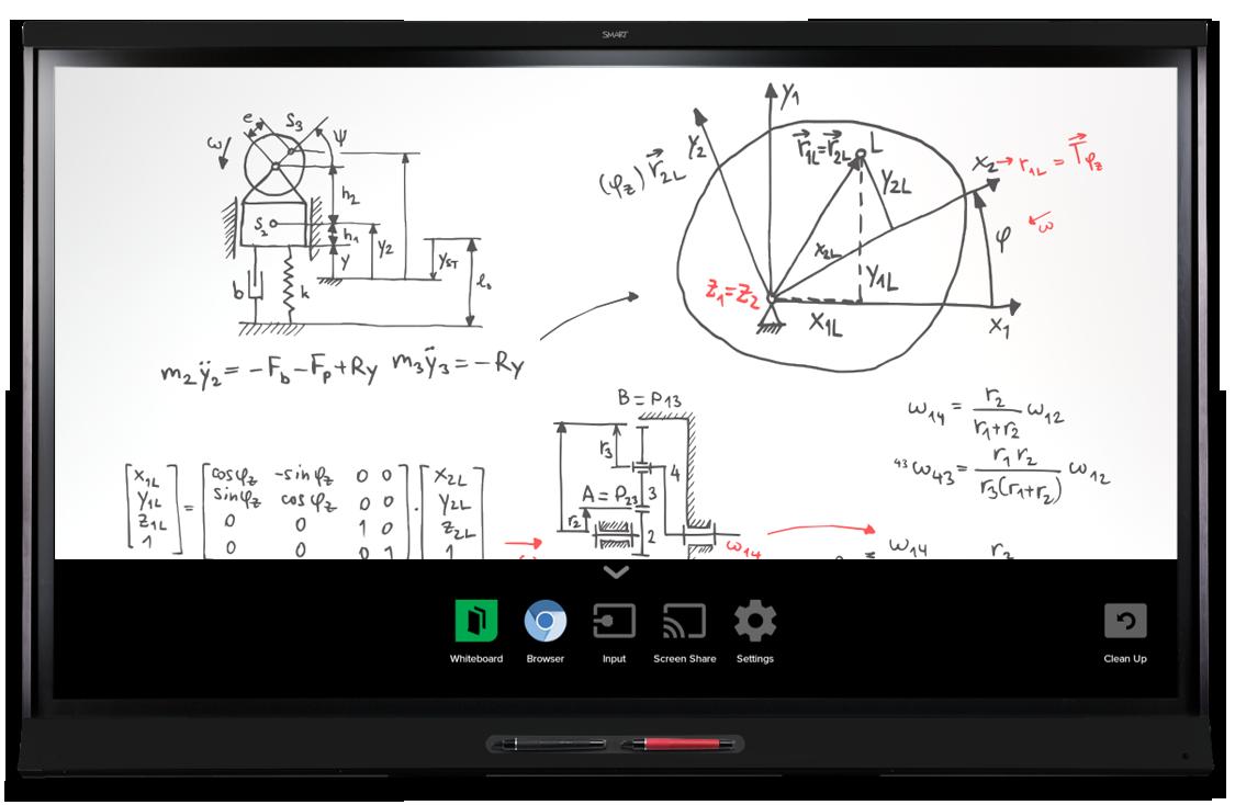 Spnl 6275p Smart Board 6000 Pro Series Interactive
