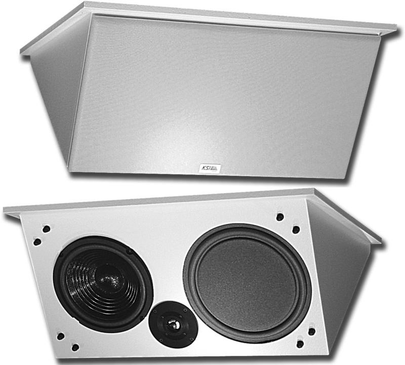 8081 Csd 8 Quot 2x2 High Fidelity Ceiling Mount Loudspeaker