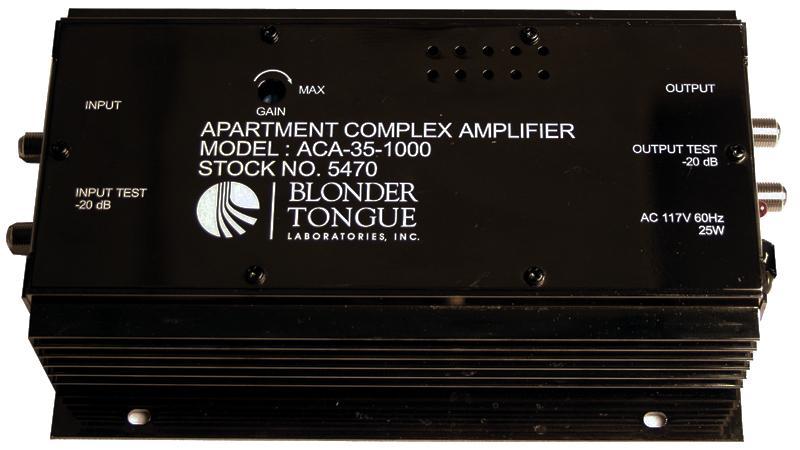 Aca 35 1000 Apartment Complex Amplifier Blonder Tongue