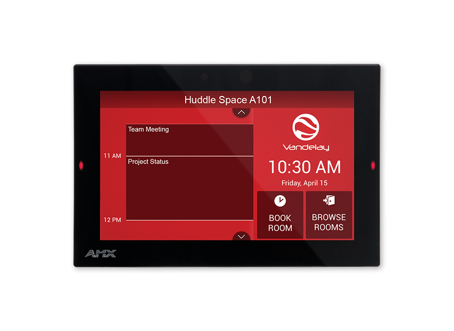 Acb 2107 7 Acendo Book Scheduling Touch Panel Amx Av Iq