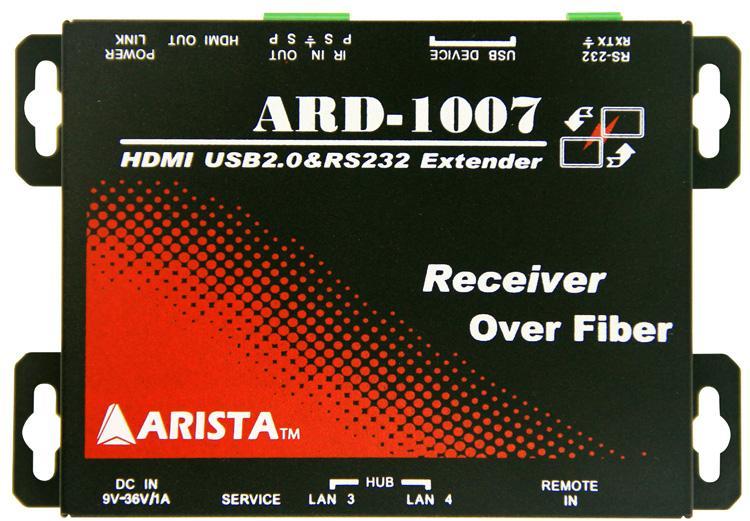 Arista Corporation  - ARD-1007-B00-RX