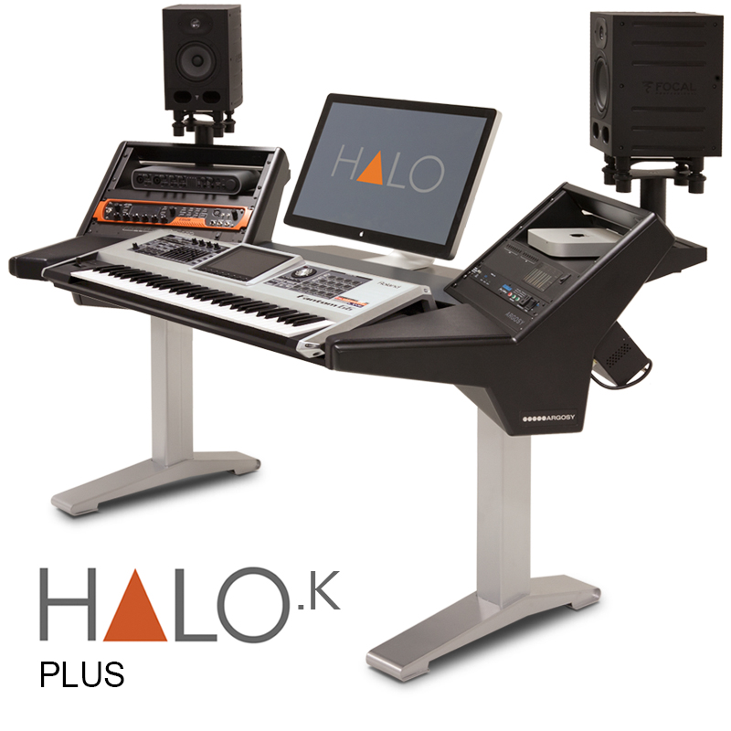 halo l k b s halo plus keyboard workstation argosy console inc av iq. Black Bedroom Furniture Sets. Home Design Ideas