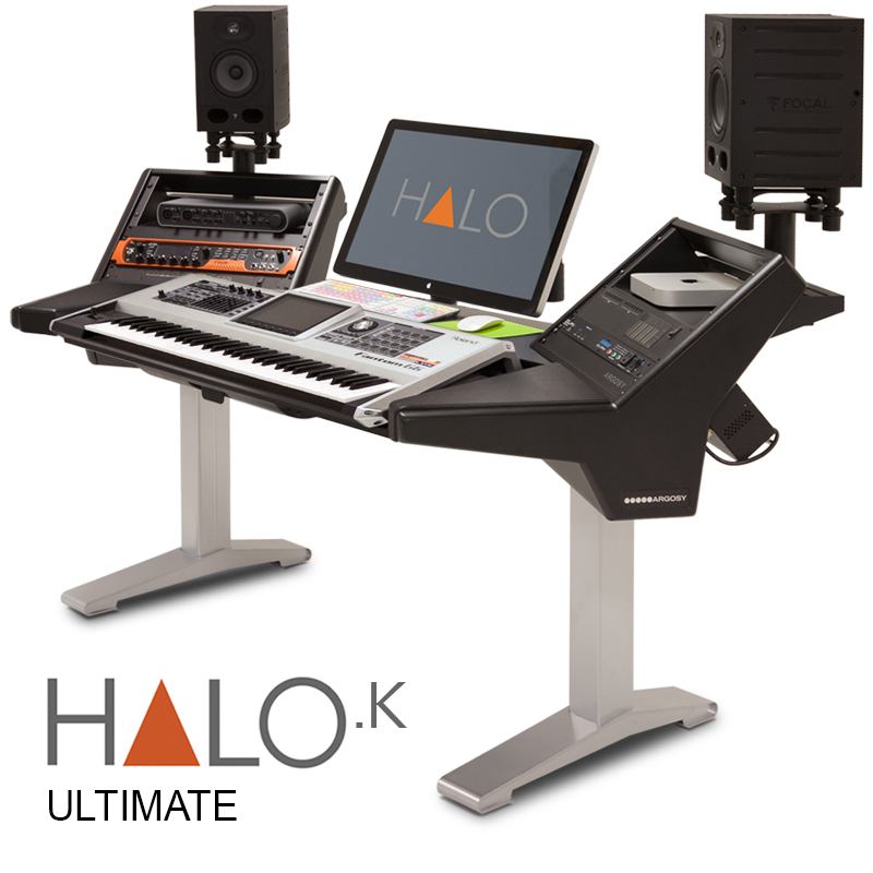 halo xl k b s halo ultimate keyboard workstation argosy console inc av iq. Black Bedroom Furniture Sets. Home Design Ideas