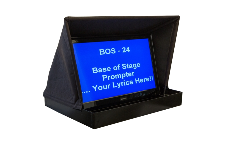 Bos 24 Base Of Stage Prompter Mirror Image
