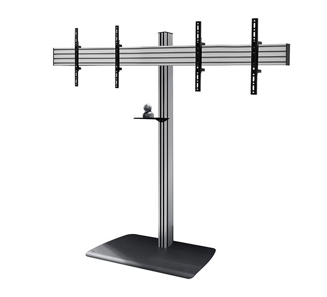 Btf845 1 8m System X Universal Twin Screen Vc Stand For
