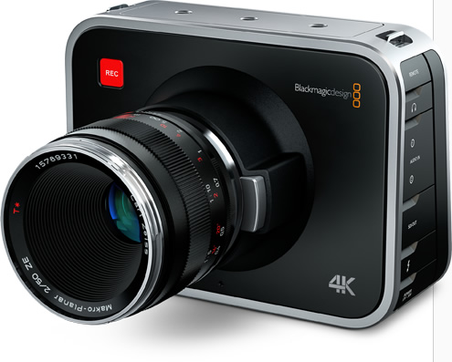 Blackmagic Design - Blackmagic Production Camera 4K