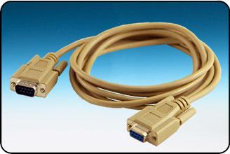 C De9m De9f 9 Pin Rs 232 Serial Port Cable Gilderfluke