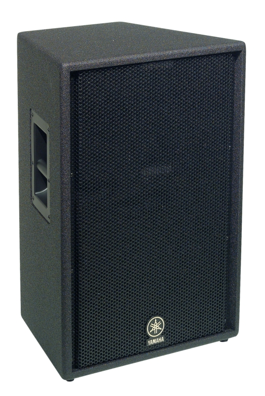 C115v 15 inch 2 way bass reflex loudspeaker system for Yamaha commercial audio