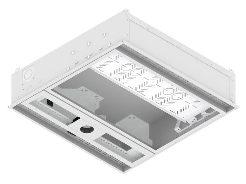 Cb 22p Cb 22 2 X 2 Ceiling Box W Projector Mount