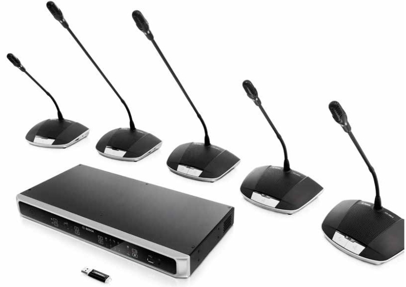 Bosch Conferencing and Public Address Systems - CCS 1000 D