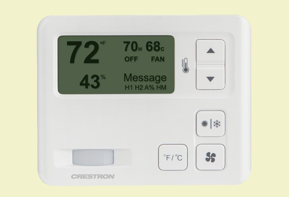Crestron Electronics, Inc. - CHV-TSTAT-FCU-PIR-10