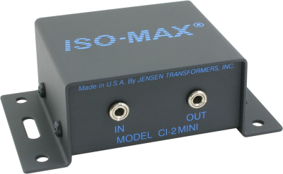 Ci 2mini Pc Audio Ground Isolator Jensen Transformers