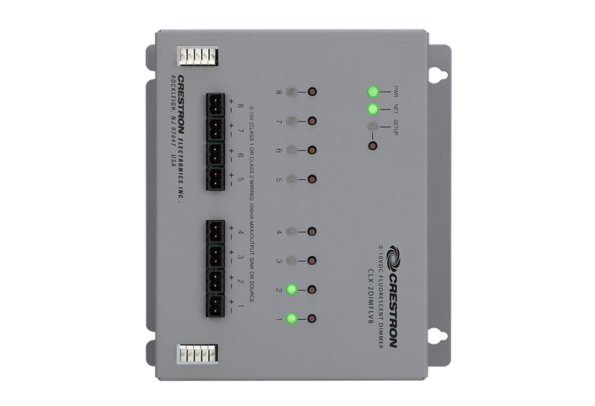 channel dimmer module 2 feeds crestron electronics inc av iq