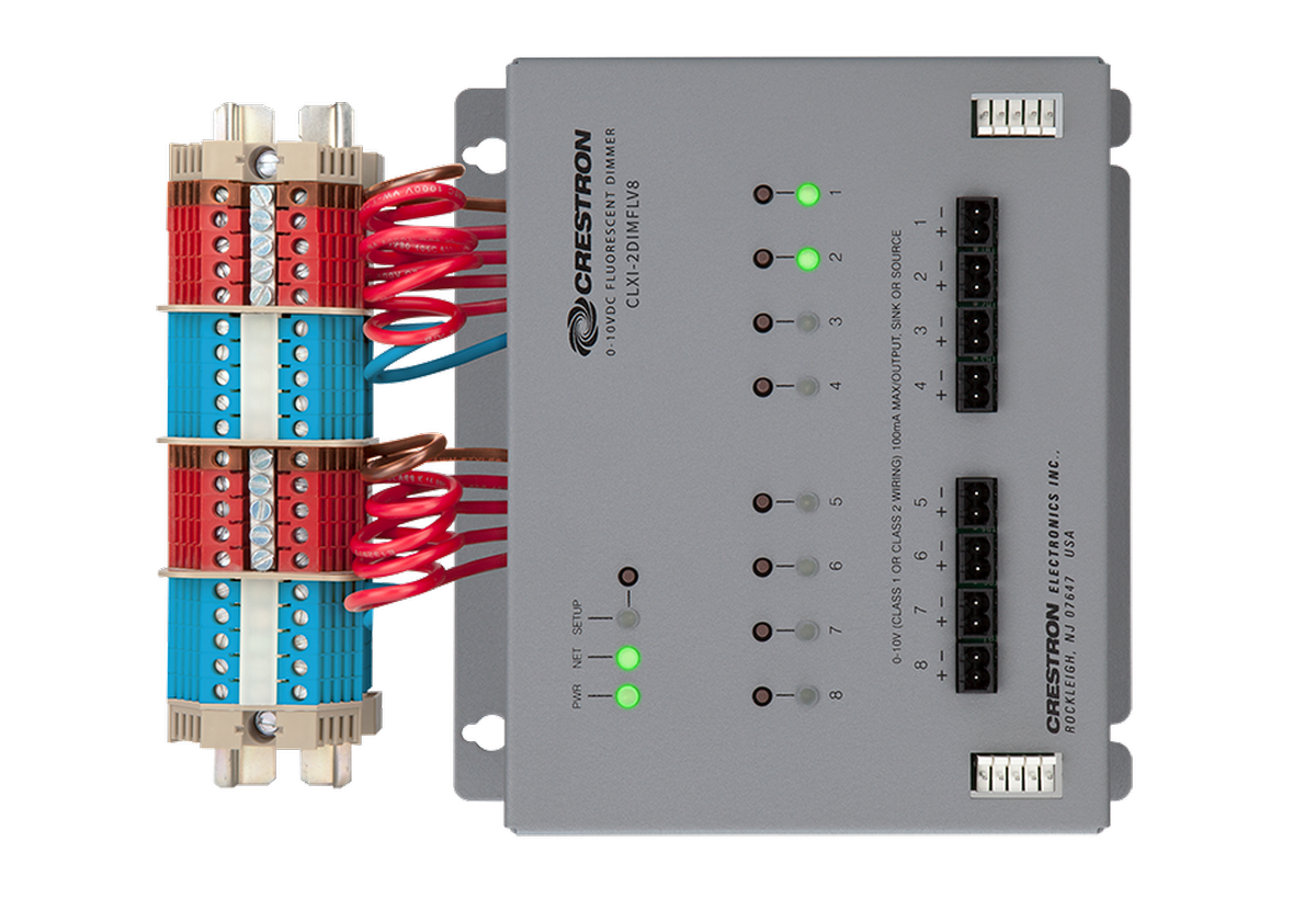 Crestron Electronics, Inc. - CLXI-2DIMFLV8