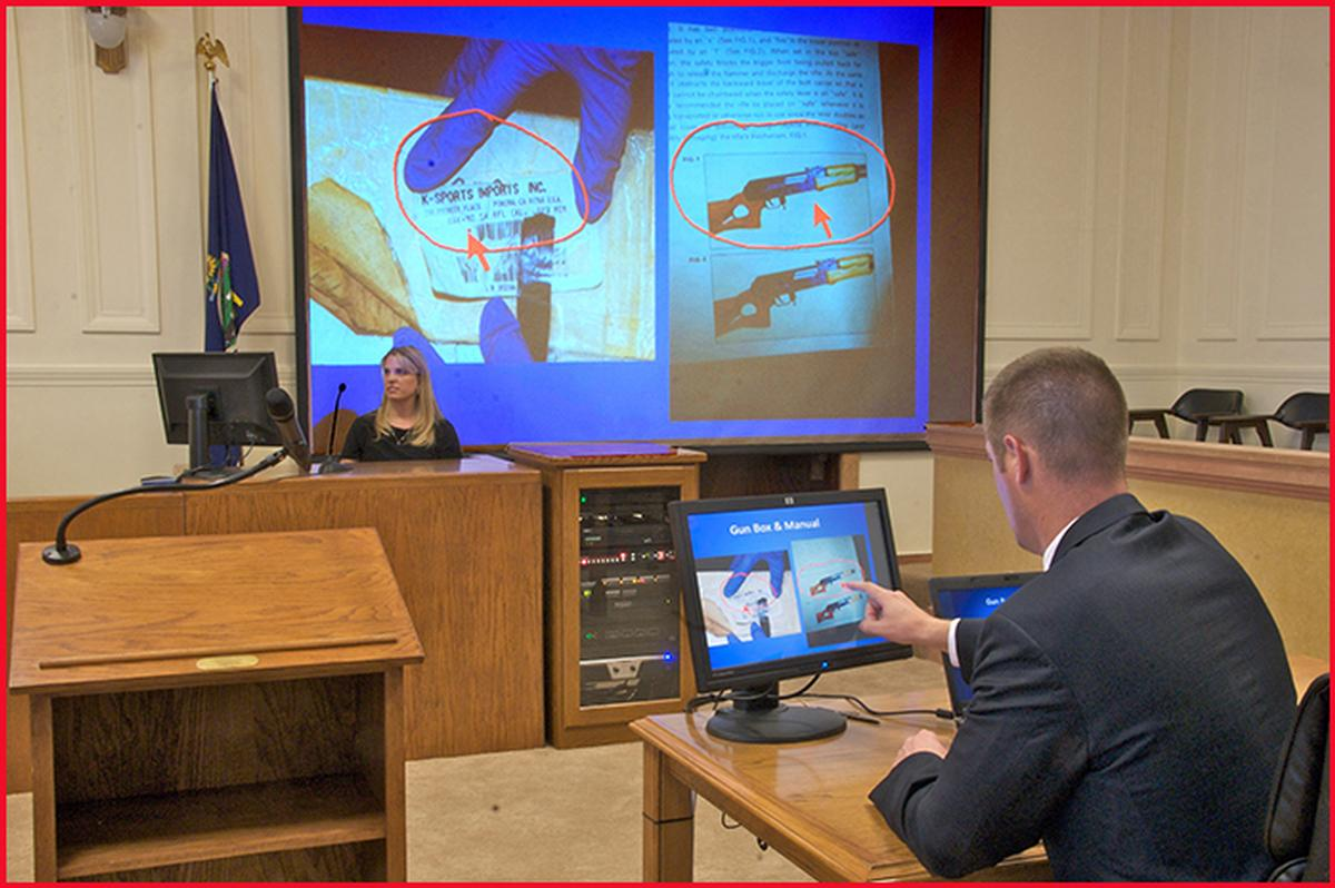 Cr 100 Courtroom Annotation System Pointmaker Llc Av Iq