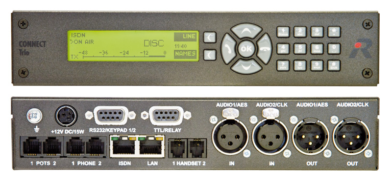 Connect Trio Dual Pots Isdn And Voip Interface Riedel