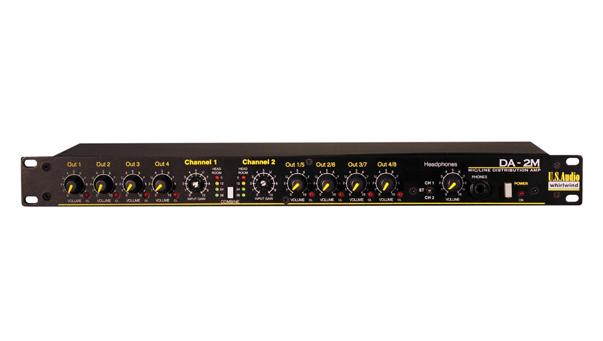 Da 2m Two Channel Analog Audio Distribution Amplifier