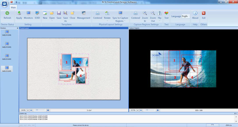 DB RC4 Control and Design Software Control and Design Software