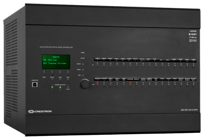 Crestron Electronics, Inc. - DM-MD16X16-RPS