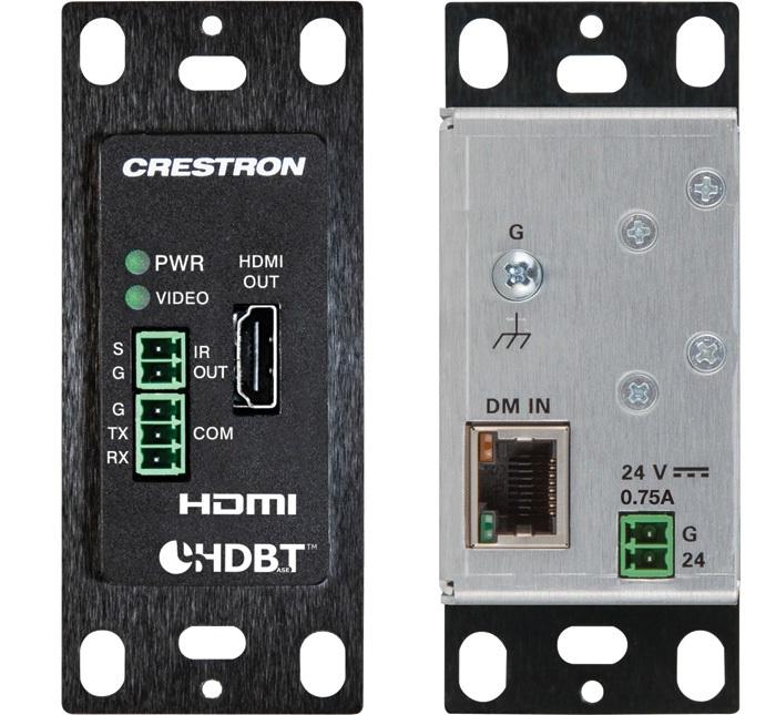 Crestron Electronics, Inc. - DM-RMC-4K-100-C-1G-W-T