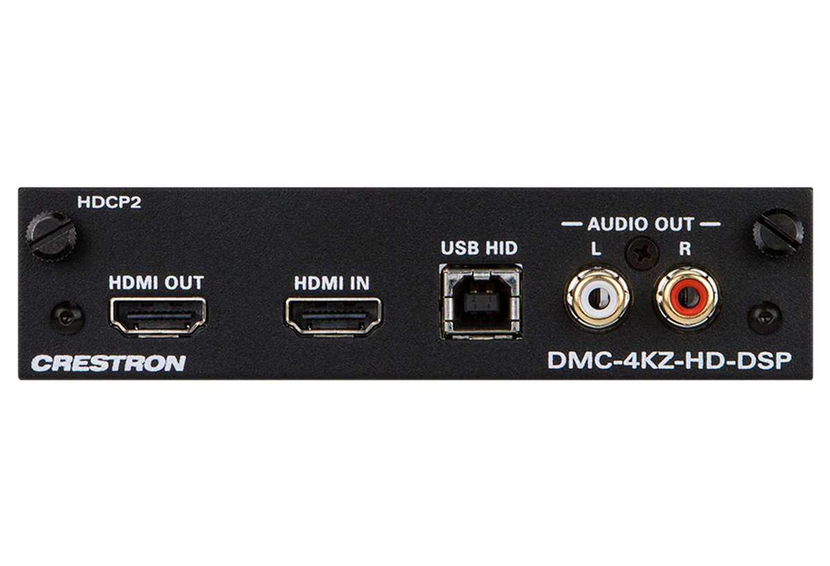 Crestron Electronics, Inc. - DMC-4KZ-HD-DSP