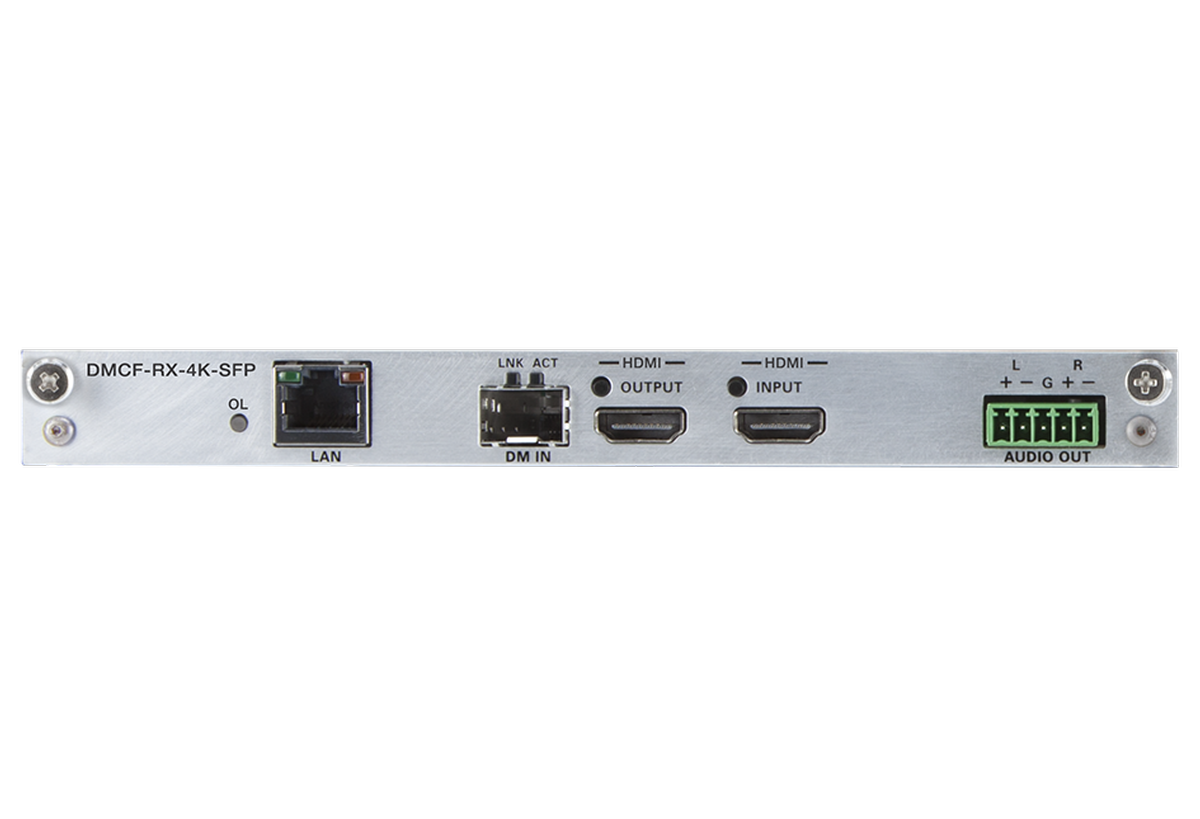 Crestron Electronics, Inc. - DMCF-RX-4K-BX PAK KIT