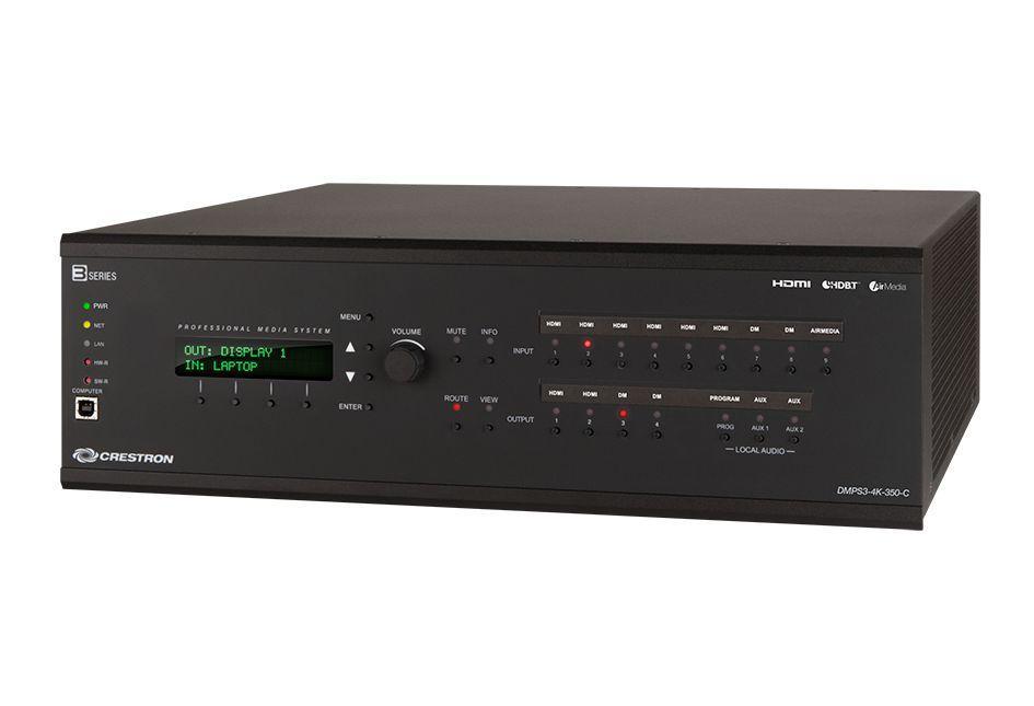 Crestron Electronics, Inc. - DMPS3-4K-350-C-AIRMEDIA