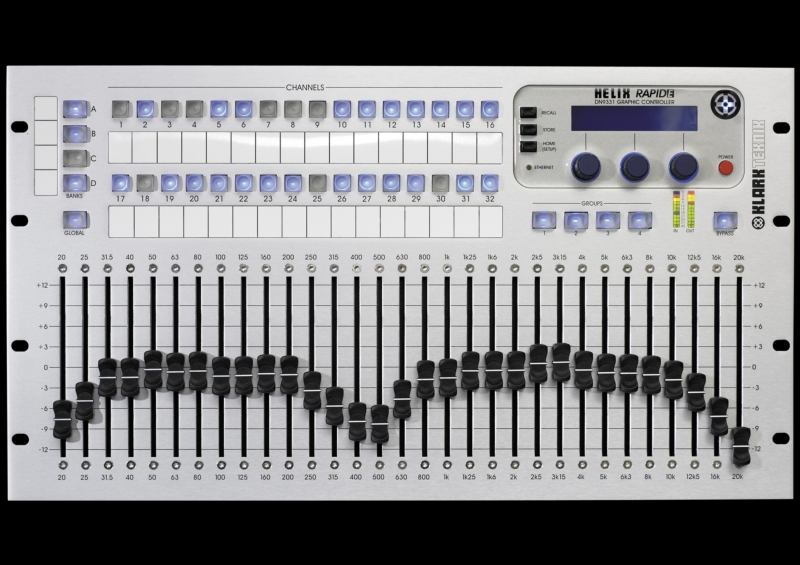 Dn9331 Rapide Tactile Graphic Equalizer Controller With