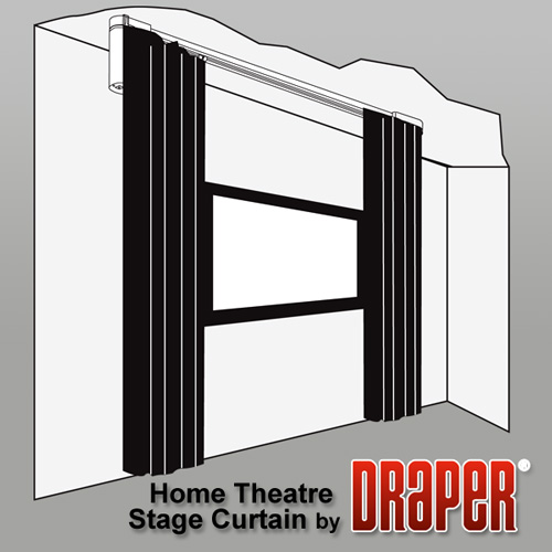 Draper, Inc.   Home Theatre Stage Curtains