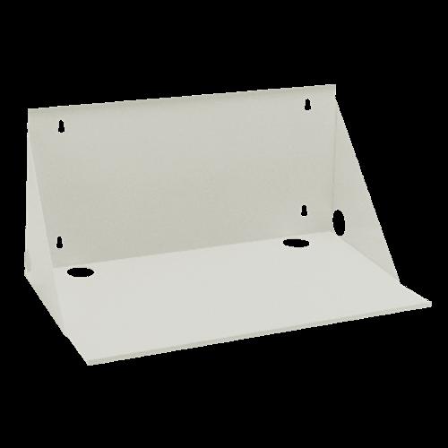 as 120 592 white wall mount shelf 12 inch deep. Black Bedroom Furniture Sets. Home Design Ideas