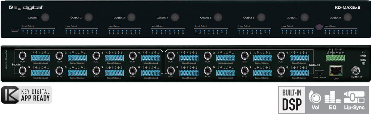 Key Digital Systems - KD-Max8x8