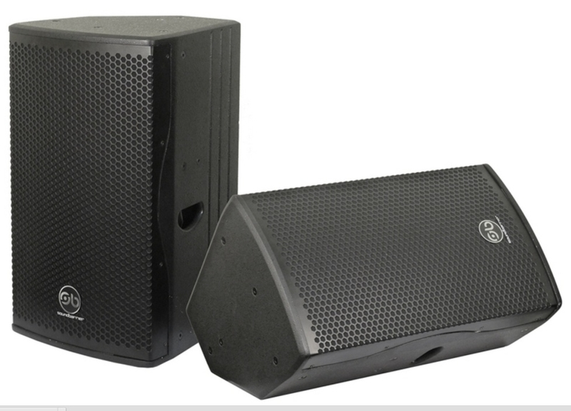 Mg115a 15 Inch Two Way 350w Active Stage Monitor And