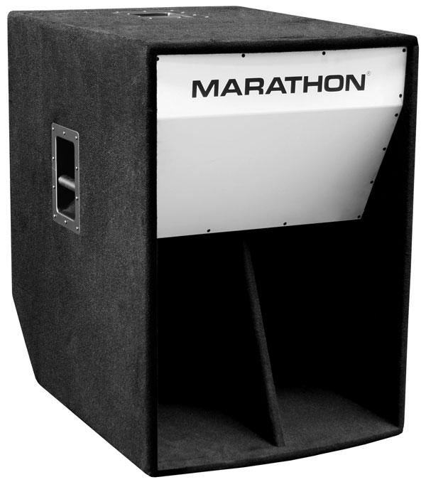 ML-36   18-inch Folded Horn High Power Bass Cabinet   Marathon ...