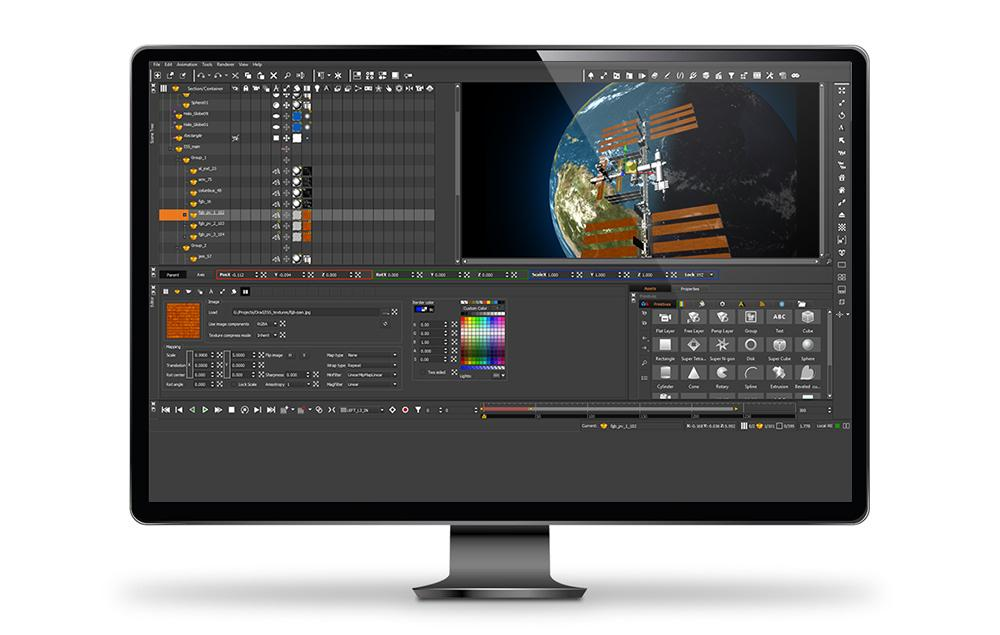 Graphics creation software
