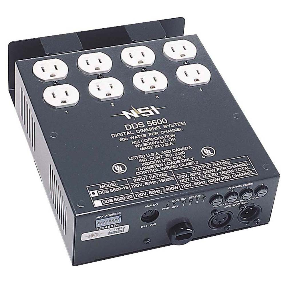 N5600 | 4-channel Dimmer/Relay Pack | Leviton | Digital Resources, Inc.