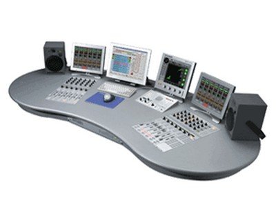 Radio Console Desk Mixing Console For Radio