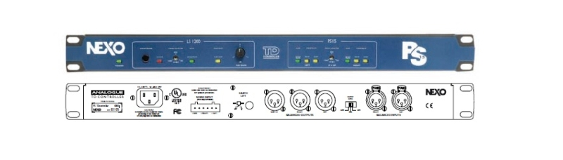 Ps15td advanced analogue processor for ps15 loudspeaker for Yamaha commercial audio