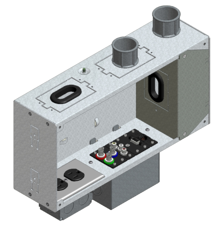 FSR, Inc. - PWB-250-VNTBLK-C